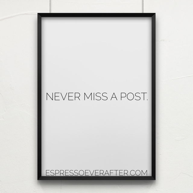 Never Miss A POST